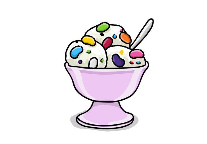 Jelly Bean Ice Cream