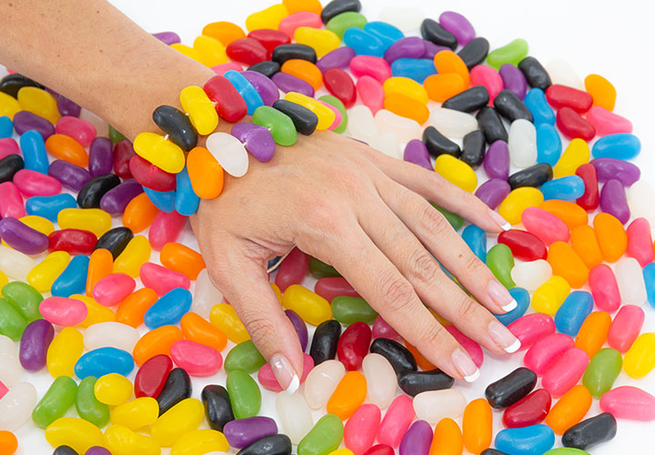 Jelly Bean Bracelet